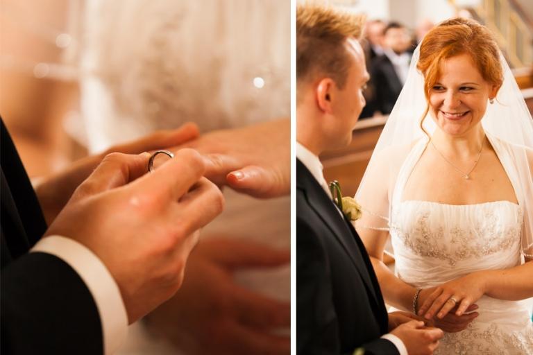 Hochzeitsfotografen aus München machen die schönsten Fotos beim Ringtausch