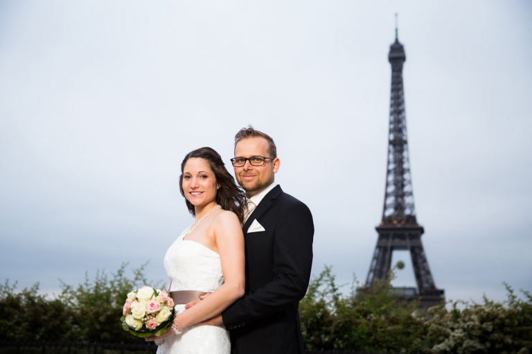 Hochzeit in Paris mit Hochzeitsfotograf aus München
