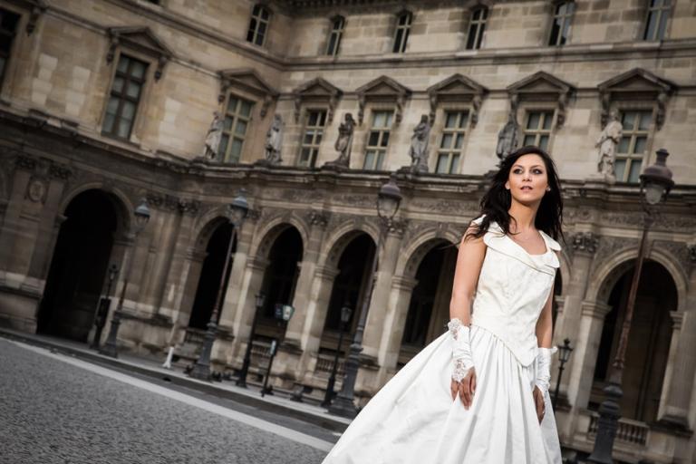 ganz besondere Aufnahmen der Braut entstehen beim After-Wedding-Shooting mit professionellem Fotografen aus München