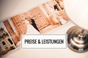 Preise für Hochzeitsfotos und Leistungen rund um die Hochzeitsfotografie. Martin Fröhlich - Ihr Hochzeitsfotograf aus München.